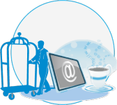SMTP Mail Service for Hotels and Internet Cafe